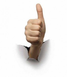 Thumbs Up 262x300 Would You Like a Little Feedback?